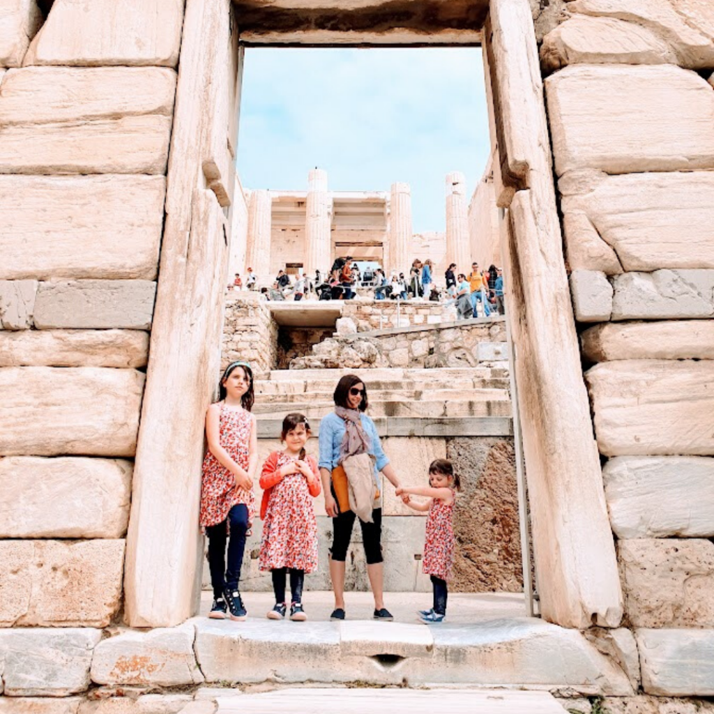 Sustainable Family Travel Destination - Greece Athens