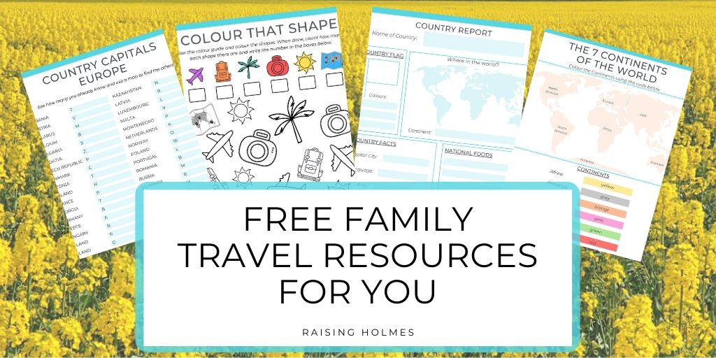 Free Family Travel Resources