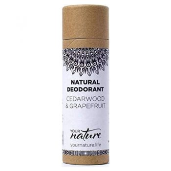 Natural Deodorant Stick – Cedarwood and Grapefruit