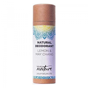 Natural Deodorant Stick – Lemon and May Chang
