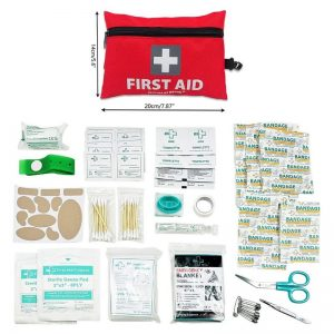 Travel Mini First Aid Kit - 92 Pieces